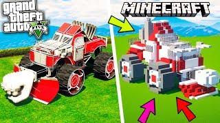 КТО ЛУЧШЕ ПОСТРОИТ МАШИНУ ИЗ ARENA WAR! - БИТВА ПОСТРОЕК В MINECRAFT (Minecraft)