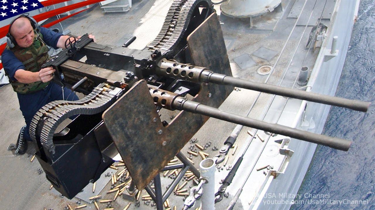 超強力な2連装ヘビー マシンガン ブローニングm2 m240機関銃 super