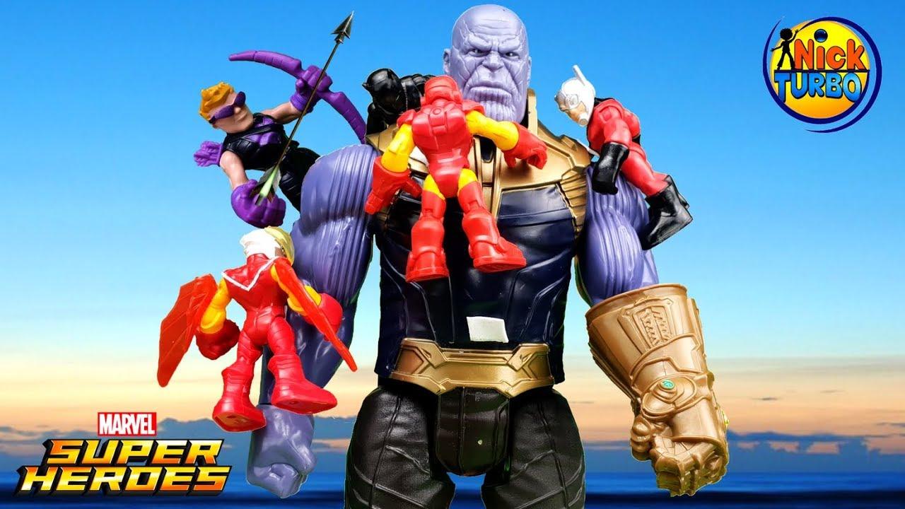 Супергерои Marvel против Таноса. Мультфильм для детей с ...