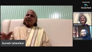 Pt. Kishan Maharaj Memorial Week - Pt. Suresh Talwalkar - Interactive Session with Pt Ramdas Palsule