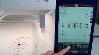 Viking EPIC 84 Embroidering Decorative Stitches & Buttonholes