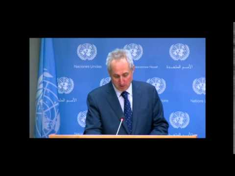 """On Ukraine, UN Spox Says Restoration of State Control Should Be Peaceful: But, """"Surrender or Die?"""""""