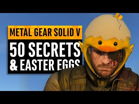 Metal Gear Solid 5 | 50 Secrets and Easter Eggs  in The Phantom Pain