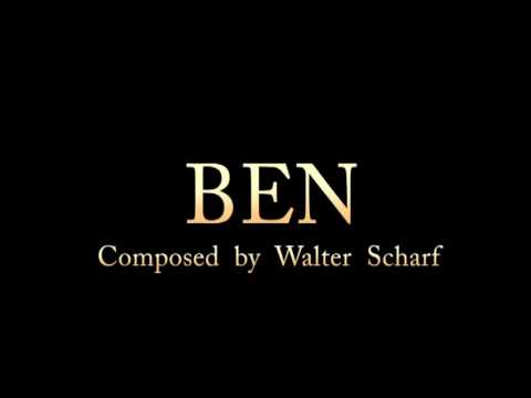 Ben (1972) for piano - Composed by Walter Scharf