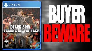 BUYER BEWARE: Dead Rising 4 PS4 - Frank's Big Package Edition