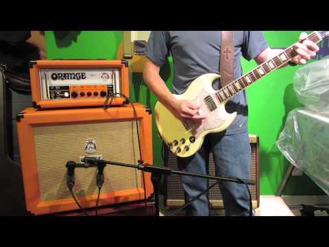 GUITAR TONE - ORANGE OR15 SOUND DEMO