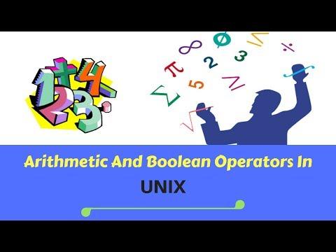 Unix Shell Script Arithmetic and Boolean Operators Examples