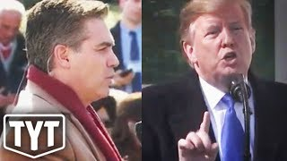 Trump FREAKS OUT On Jim Acosta