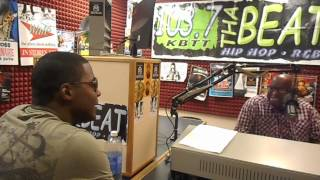 Interview with Jab on 103.7 the beat Part1 Shreveport Louisiana