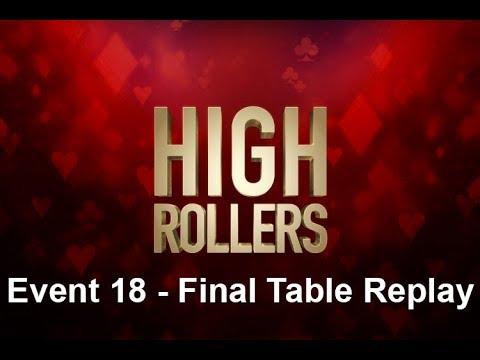 "High Rollers   $1,050 NLHE Event 18: Final Table Replay with Bert ""girafganger7"" Stevens"