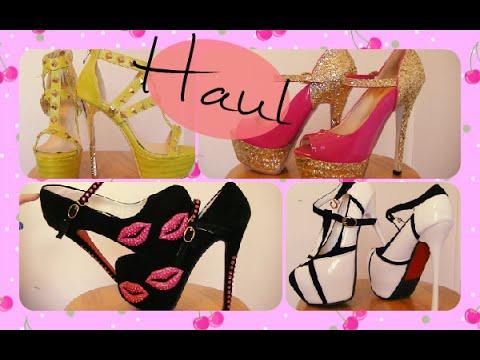 Cute Girly Shoe Haul