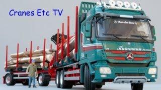 Conrad Doll Short Log Carrier by Cranes Etc TV