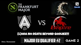 Dota 2 Tournament Frankfurt Major 2015 - Alliance vs Empire Game 2 - Loda No Death Beyond Godlike!!(Dota 2 Tournament Frankfurt Major 2015. Alliance vs Empire Game 2. Major EU Qualifier #2. # Alliance.Loda No Death Beyond Godlike!! Published by Dota 2 ..., 2015-10-11T03:30:00.000Z)