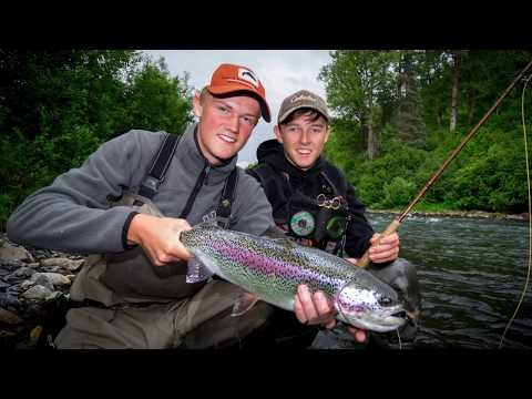 Alaska´s Wild Rainbows - Talkeetna Fishing Lodge
