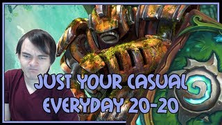 Just your casual everyday 20-20 | Combo priest | The Witchwood | Hearthstone