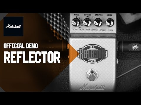 Marshall RF-1 Reflector Pedal | Product Demo | Marshall