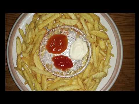 Pabrik Makanan Kentang Goreng (French  Fries) - French Fries Food Factory.