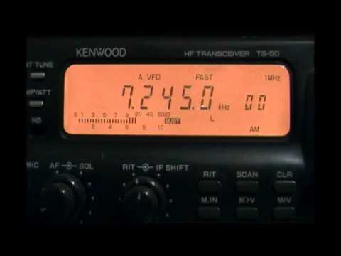 Radio Mauritanie (Nouakchott, Mauritania) - Low audio - 7245 kHz