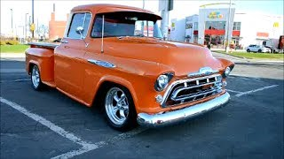 COOL '57 CHEVY STEPSIDE PICK UP TRUCK 2016-12-17