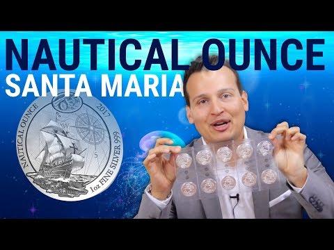 1 Unze Silber - Nautical Ounce Santa Maria (Stempelglanz)