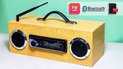Building Multi-function Bluetooth Speaker/FM Radio/MP3 Player