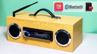 Building Multi Function Bluetooth Speaker FM Radio MP3 Player