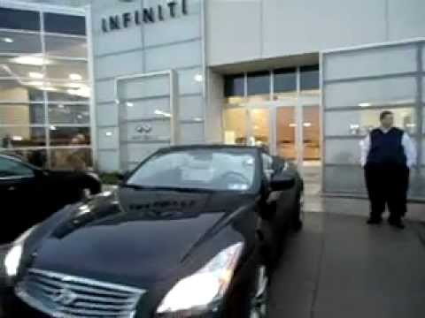 Certified Pre Owned 2009 Infiniti G37 Convertible Sport 6mt Black On