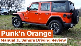 Manual Jeep JL Sahara Driving Review: Punk