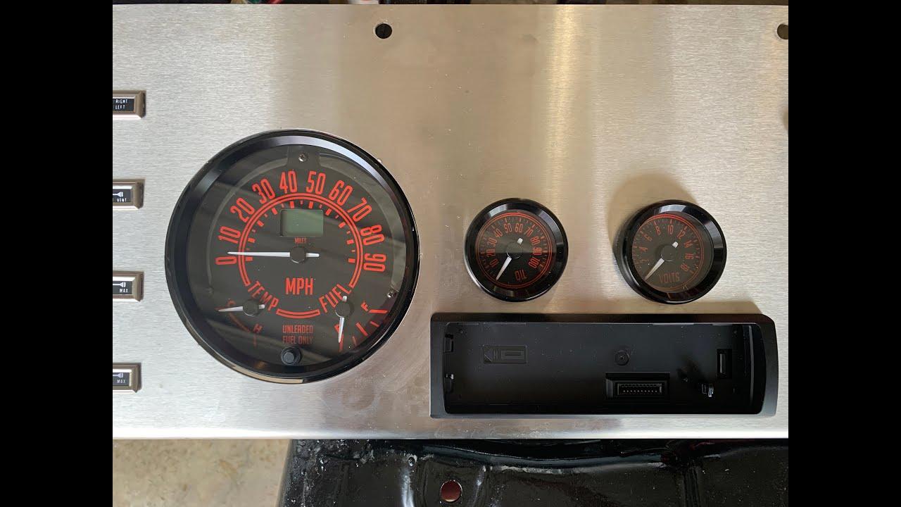 Jeep CJ40 Update 40   Speedhut Gauges   YouTube