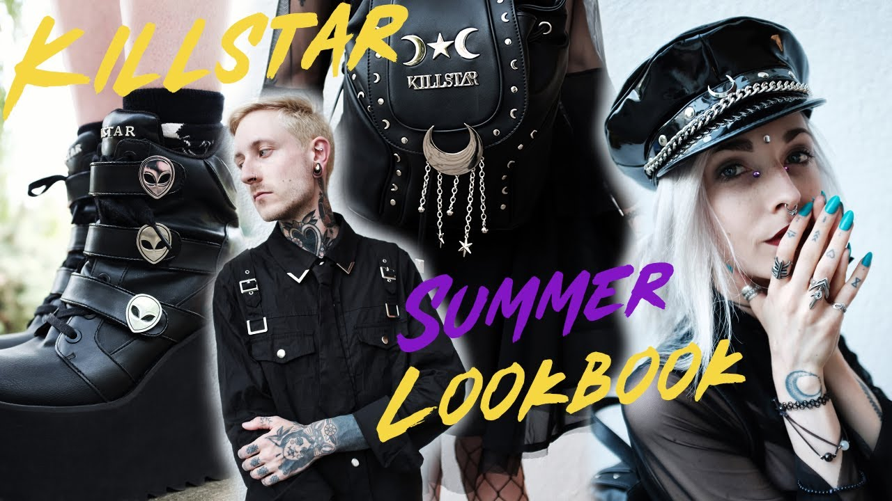 [VIDEO] - Killstar x Kimi Peri - Summer Grunge Goth Lookbook 4