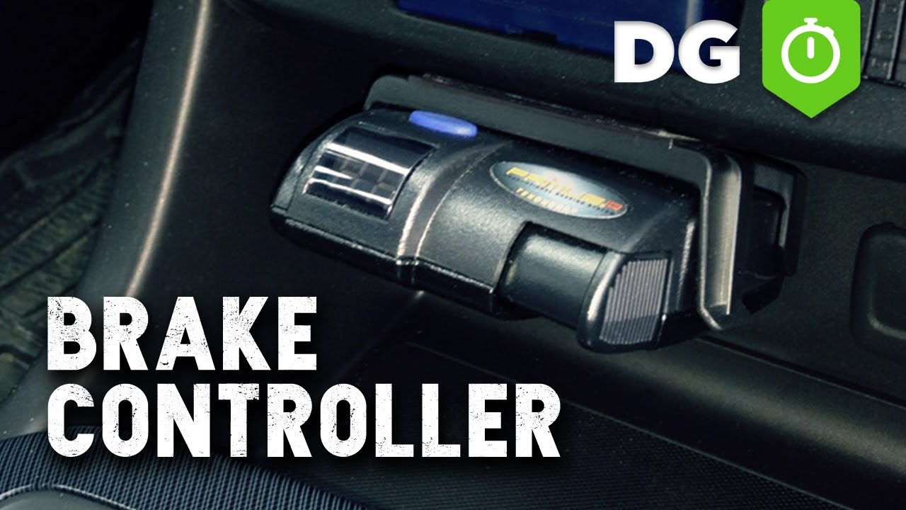 Trailer Brake Controller Installation In Chevy GMC Truck or SUV  YouTube