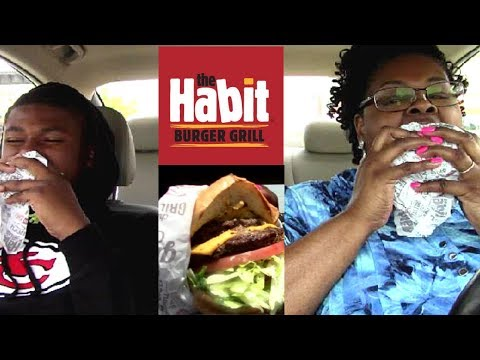 First Time Trying **The Habit Burger Grill** Carbang Style Y'alllll