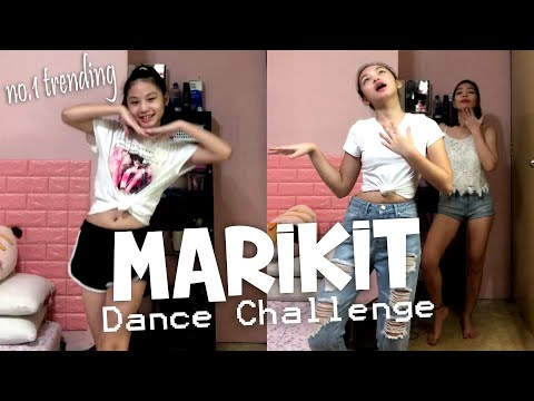 MARIKIT DANCE CHALLENGE | Mom VS Daughters | Aurea & Alexa