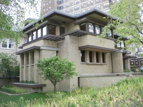 The Emil Bach House - Chicago - Frank Lloyd Wright