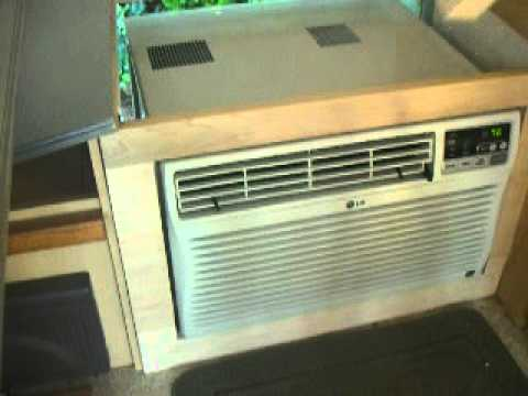 T B Trailer Replacement Air Conditioning Unit Youtube