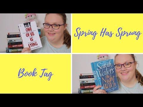 Spring Has Sprung Book Tag // Me, Simone & I ♨️