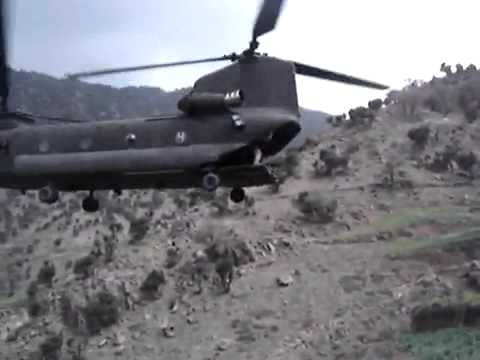 Extreme Chinook Helicopter Troop Extraction