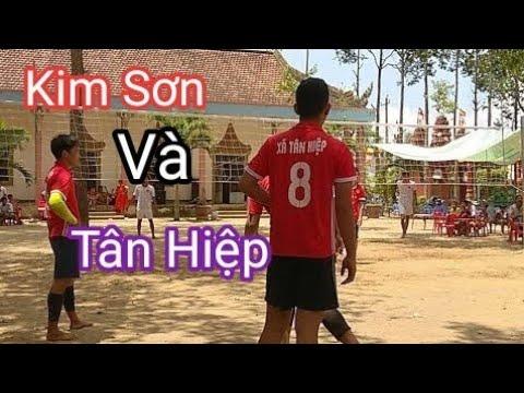 Bóng Chuyền Trận Chung kết Giữa Kim Sơn Và Tân Hiệp Thịnh Bò bay quá cao ll volleyball final 🏆🎖️