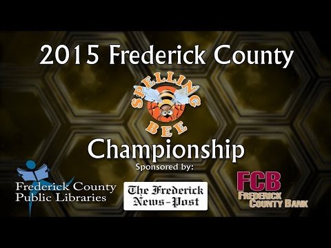Frederick County Spelling Bee 2015