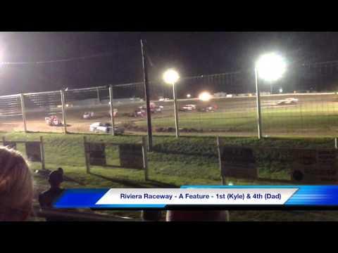 Riviera Raceway 8/3/13 - Kyle Prauner 5K & Jerry Prauner 50K