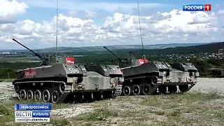 Военные со всей страны собрались в Новороссийске