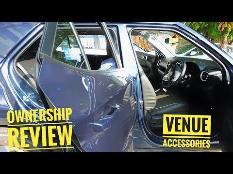 Hyundai Venue 500km Ownership Review & Fitting Car Accessories