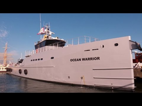 "The ""Ocean Warrior"", Sea Shepherd's new weapon against whalers"