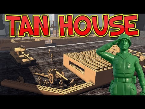 Defence of Tan House - Army Men of War - Episode 33