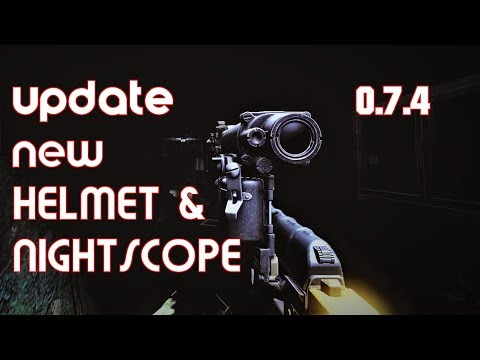 0 7 4 Preliminary Patch : new HELMET 6B47 and new NSPU-M Night scope -  Escape from Tarkov