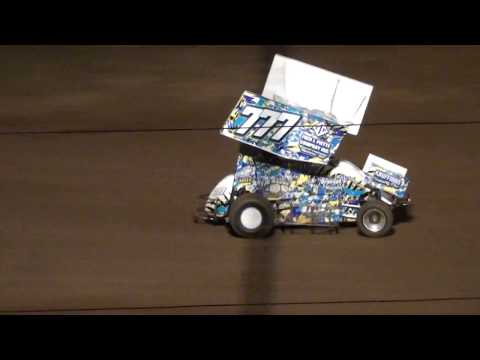 Micro Sprint Feature - Thunder Hill Speedway 08/25/2018
