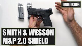 Unboxing the Smith and Wesson M&P9 Shield 2.0 9mm Pistol