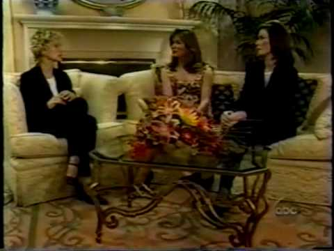 Charlie's Angels Original Cast Reunion 1998  Farrah Fawcett, Kate Jackson, Jaclyn Smith