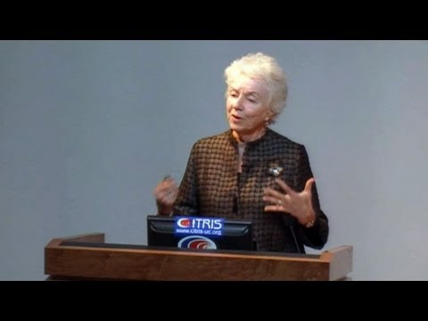 Women in Political Leadership - Why so Few? with Former Vermont Governor Madeleine Kunin