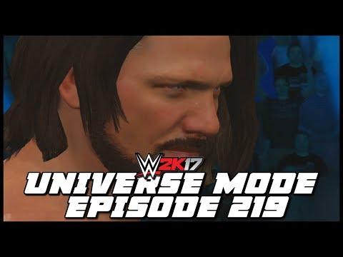 WWE 2K17 | Universe Mode - 'PHENOMENAL POWER!' | #219